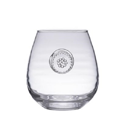 Juliska Berry and Thread Glassware Stemless Red Wine
