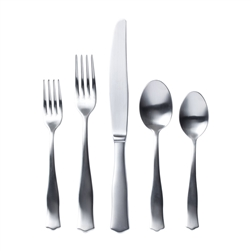 Vietri Borgo Matte Five-Piece Place Setting - BGO-4200-M