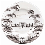 Juliska Country Estate Dinner Plate Flint Main House