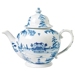 Juliska Country Estate Delft Blue Teapot Main House