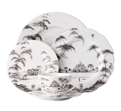 Juliska Country Estate 5pc Dinnerware Setting Flint