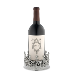 Olivia Riegel Diana Crown Candle Holder/Wine Coaster