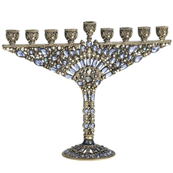 Olivia Riegel Devorah Enamel & Jewel Menorah