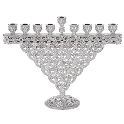 Olivia Riegel Crystal Sinclair Menorah