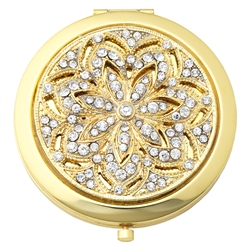 Olivia Riegel Gold Windsor Compact - Chelsea Gifts