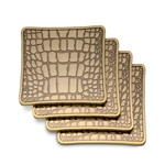 L'objet Crocodile Coaster (Set of 4)