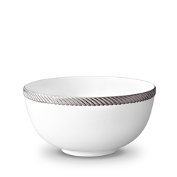 L'objet Corde Platinum Serving Bowl Large