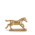 L'Objet Horse  Knife/Chopstick Rest Gold Set of 6