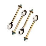 L'objet Venise Cocktail Spoons Set of 4