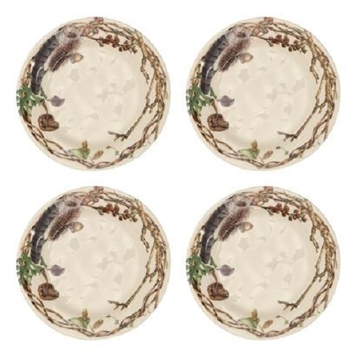 Juliska Forest Walk Party Plates Set-4