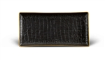 L'objet Crocodile Desk Rectangular Tray