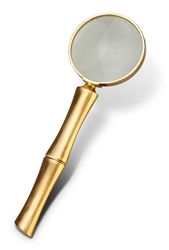 L'Objet Library Bambou Magnifying Glass