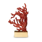 L'Objet Library Coral Bookend