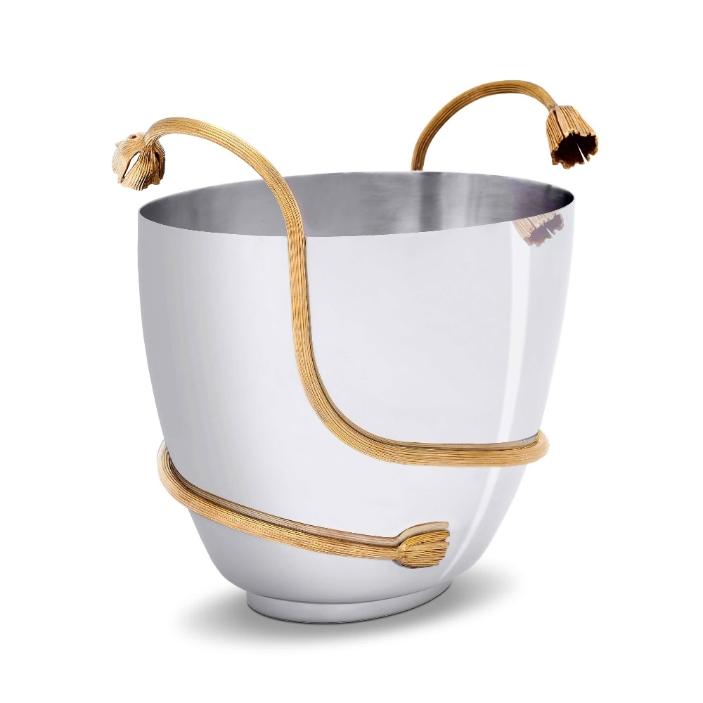 L'Objet Deco Leaves Champagne Bucket