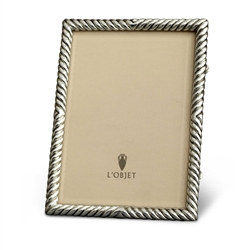 L'Objet Deco Twist Photo Frames Platinum 8x10