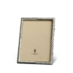 L'Objet Deco Twist Photo Frame Platinum 4x6