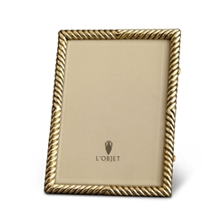 L'Objet Deco Twist Photo Frames Gold 4x6