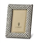 L'objet Platinum Braid Photo Frame 2x3