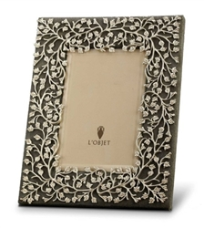 "L'objet Lorel Platinum Photo Frame 5""x7"""