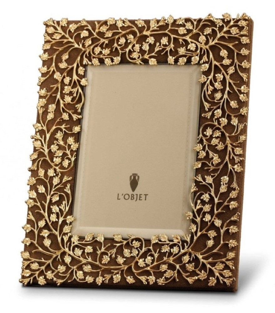 L\'Objet Lorel Gold Photo Frame 8x10 - F9701L