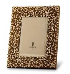 L'objet Lorel Gold Photo Frame 5x7