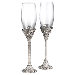Olivia Riegel Windsor Flute Pair 7 oz.