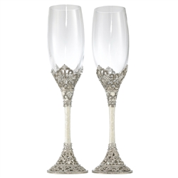 Olivia Riegel Celebration Flute Pair 8 oz.