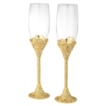 Olivia Riegel Gold Windsor Flute Set of 2