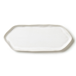 Vietri Forma Cloud Rectangular Platter w/ Triangular Edges