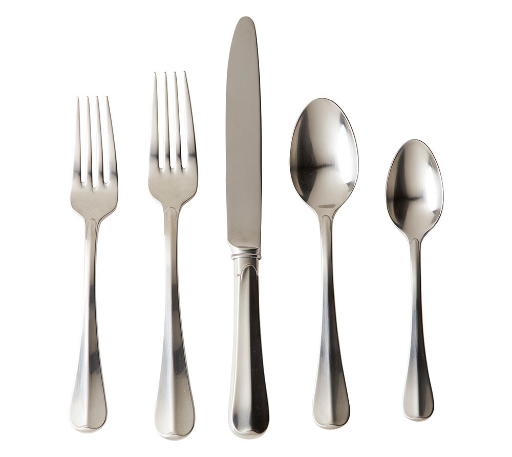 Juliska Bistro 5pc Flatware Setting Bright Satin