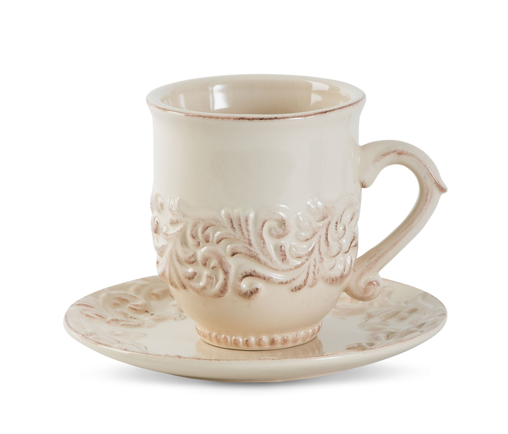 The GG Collection Four Cups and Saucers  sc 1 st  Chelsea Gifts & The GG Collection 20-Piece Dinnerware Set - GG20pcDinner