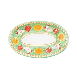 Vietri Campagna Gallina Small Oval Tray - GNA-1040