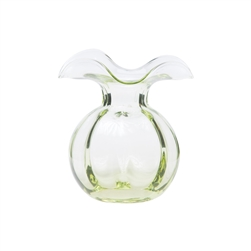 Hibiscus Glass Green Bud Vase - HBS-8580G-GB