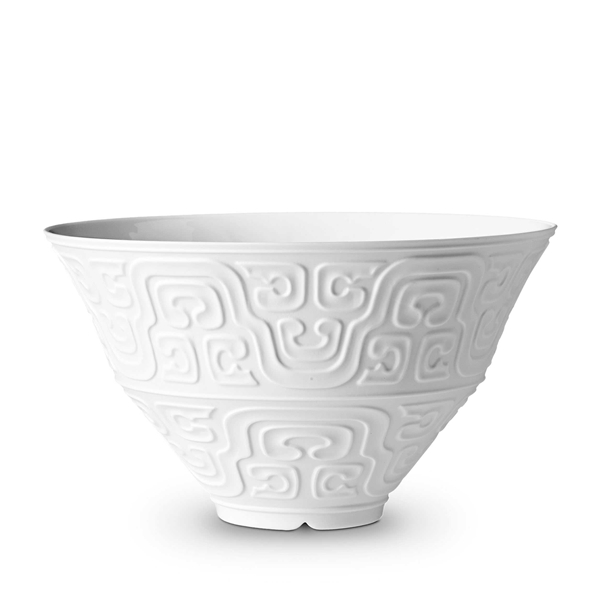 L'Objet Han White Large Bowl