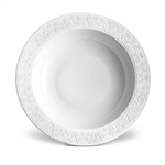 L'Objet Han White Rimmed Serving Bowl
