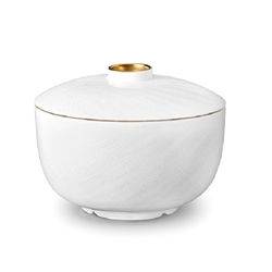L'Objet Han Gold Rice Bowl with Lid