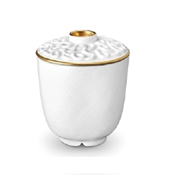 L'Objet Han Gold Green Tea Cup with Lid