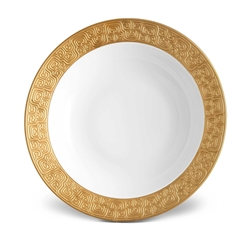 L'Objet Han Gold Rimmed Serving Bowl
