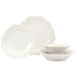 Vietri Incanto Baroque Four-Piece Place Setting
