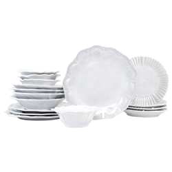 Vietri Incanto Assorted 16-Piece Service for 4
