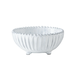 Vietri Incanto Stripe Footed Bowl