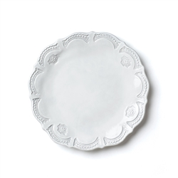Vietri Incanto Lace European Dinner Plate