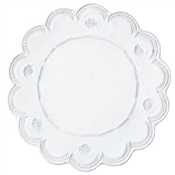 Vietri Incanto Lace Service Plate/Charger
