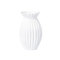 Vietri Incanto Pleated  Vase - INC-1182