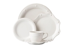 Juliska Berry and Thread 5pc Dinnerware Set Whitewash