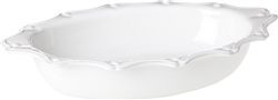 Juliska Berry and Thread Large Oval Baker Whitewash