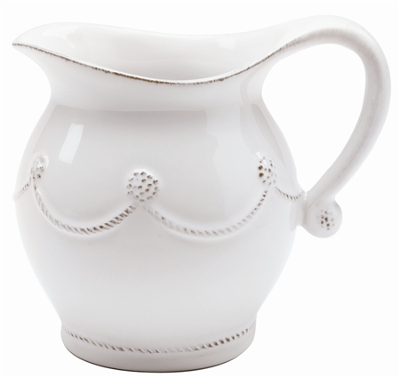 Juliska Berry and Thread Creamer Whitewash