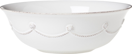 Juliska Berry and Thread Small Serving Bowl Whitewash