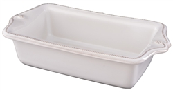Juliska Berry and Thread Loaf Pan Whitewash