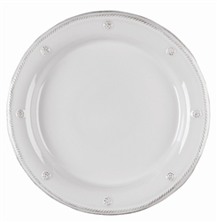 Juliska Berry and Thread Round Dinner Plate Whitewash